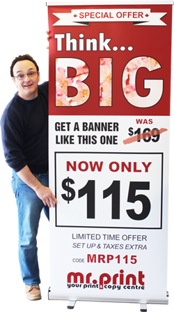 Sample PullUp Banner